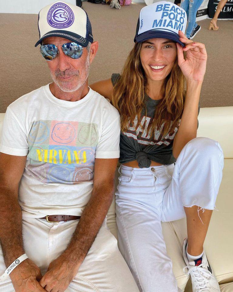 Horacio Heguy charló con la modelo cordobesa Isabel Blancart