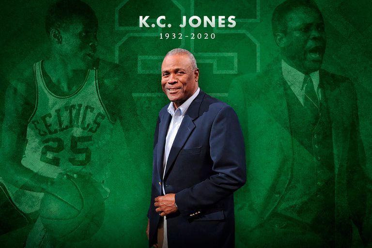 NBA de luto: murió K.C. Jones, gloria de Boston Celtics, ganador de 12 anillos
