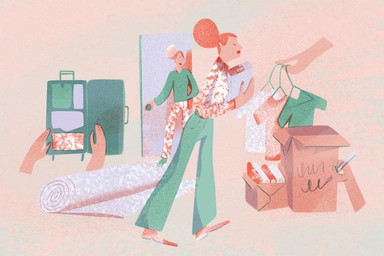 Ilustración de Eugenia Mello.