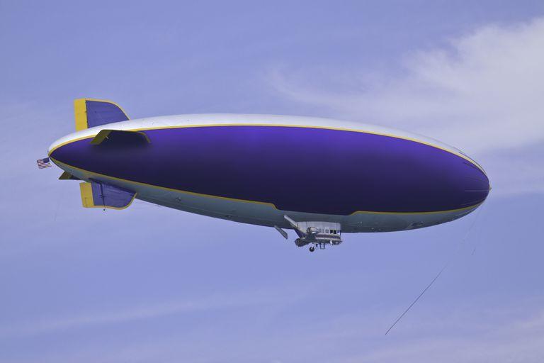 Los dirigibles actuales se usan, sobre todo, con fines publicitarios