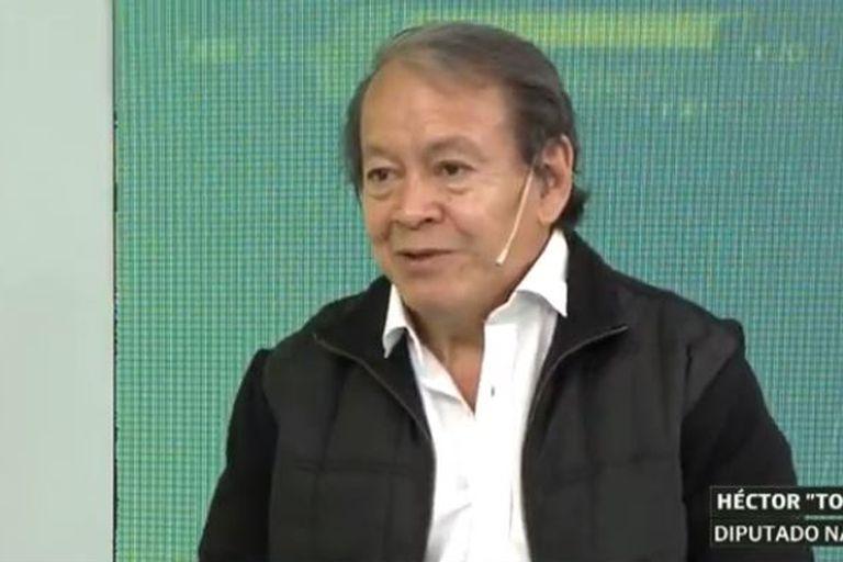El diputado nacional Héctor Flores