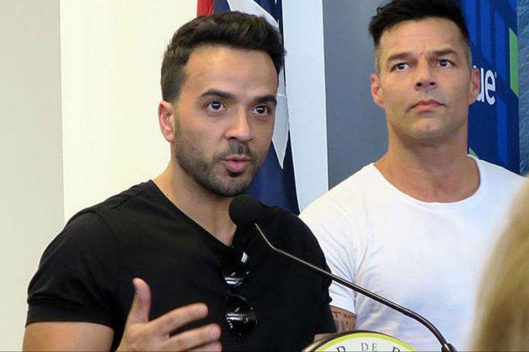 Ricky Martin y Luis Fonsi, unidos por Puerto Rico, tras el devastador huracán