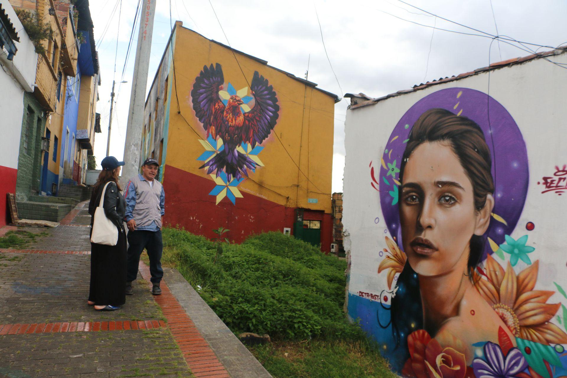 Breaking Borders, el proyecto de un grupo de exconvictos, consiguió revertir la imagen violenta de Egipto, el segundo barrio más antiguo de Bogotá.