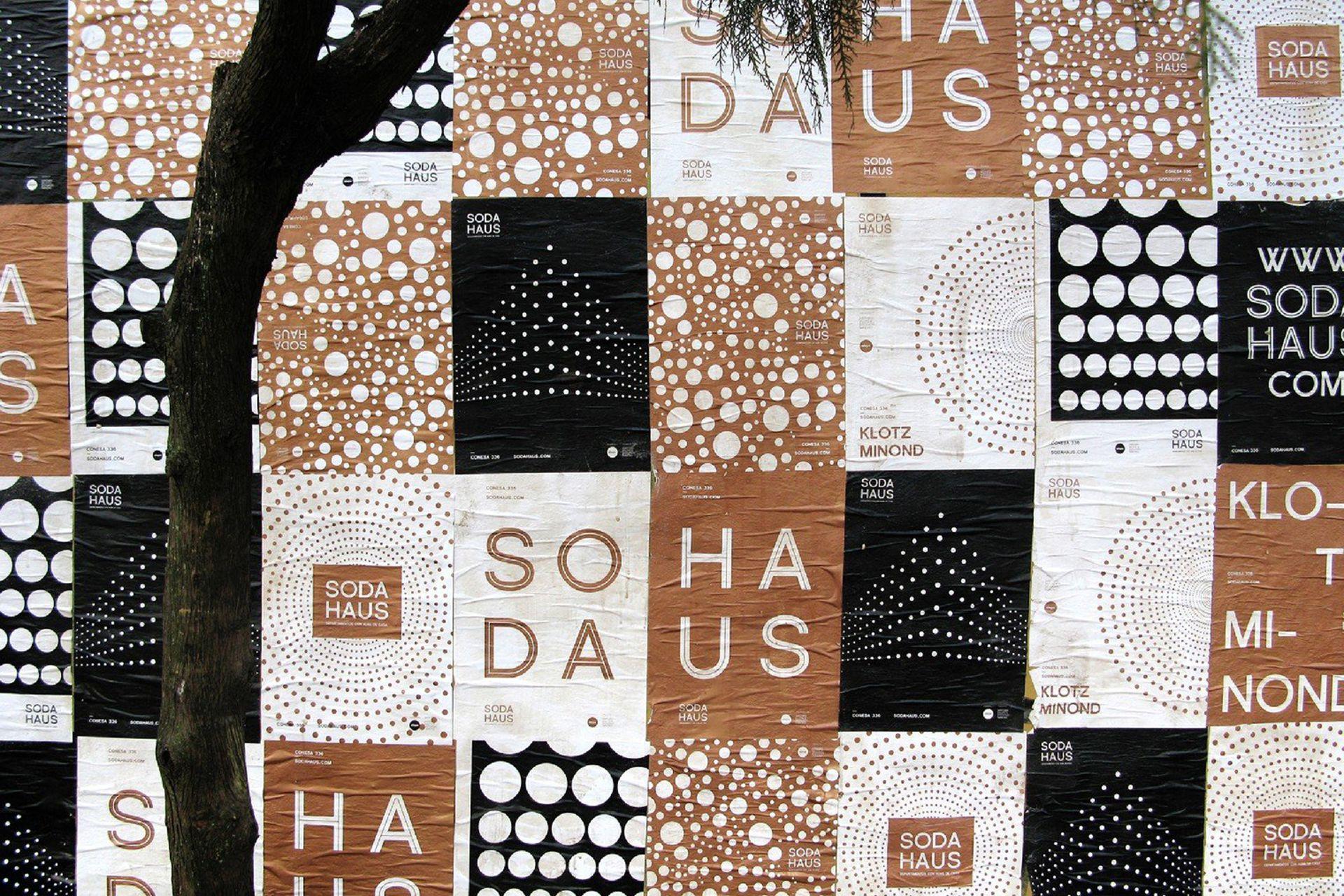 Soda Haus conserva la impronta de la antigua fábrica de soda Tomasello y Cía en Conesa al 300