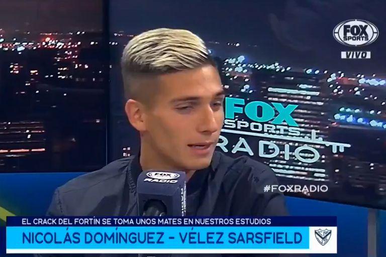 """""""Uno siempre sueña con ir a Boc..."""": el acto fallido de Nicolás Dominguez"""