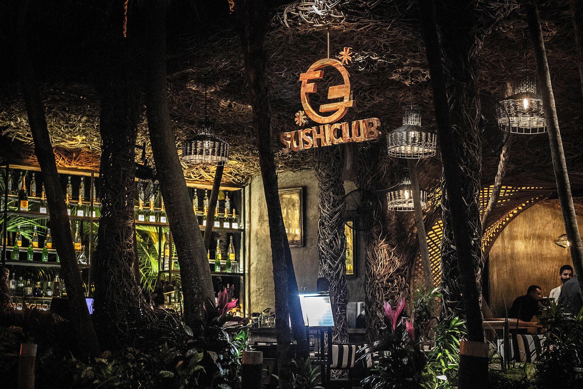 SushiClub recién llegado a Tulum, México