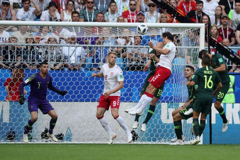 Thomas Delaney hizo el gol de Dinamarca