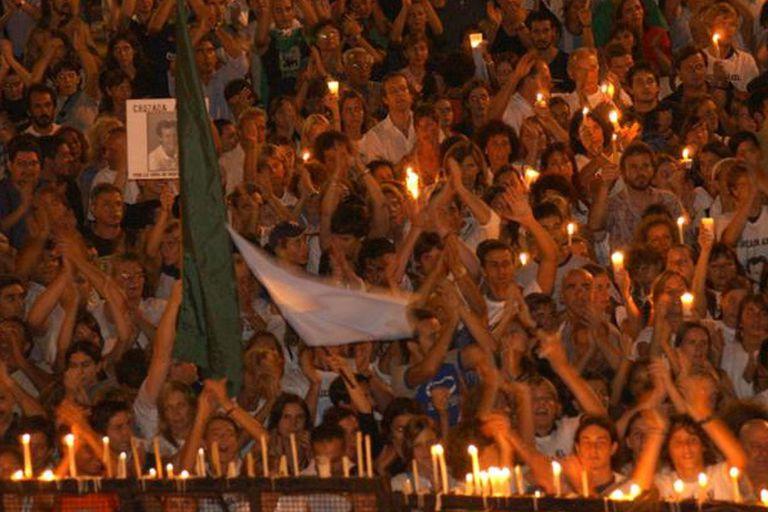 El crimen de Axel Blumberg provocó masivas protestas contra la inseguridad