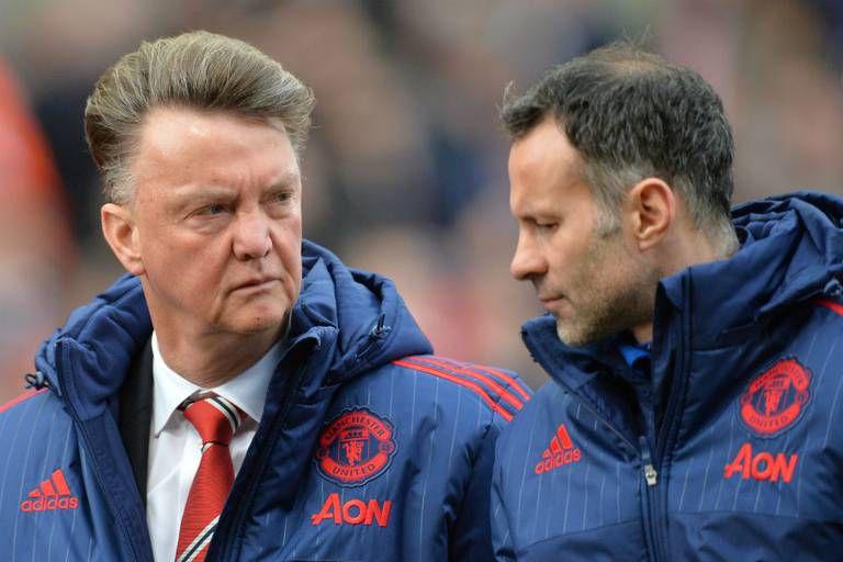 Giggs reveló que Van Gaal le pegó en su primera reunión en el Manchester United