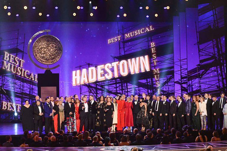 Hadestown, la gran ganadora de la noche con 8 Tony