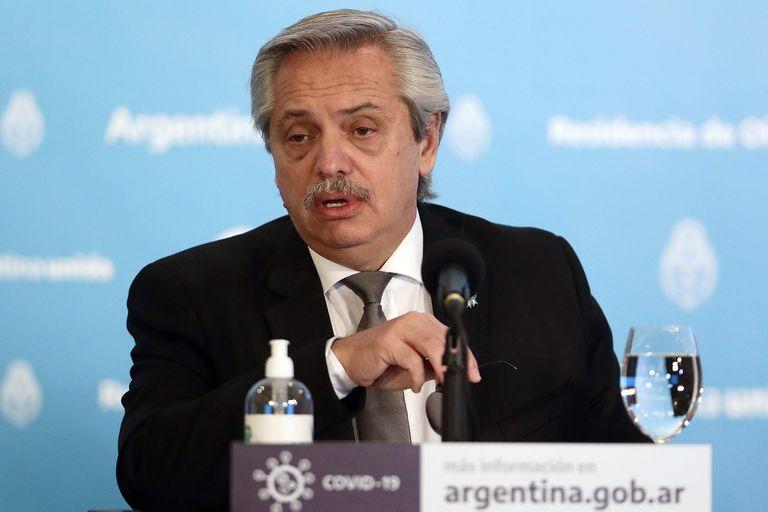 Alberto Fernández anunció la intervención de la cerealaera. La intención del Frente de Todos es avanzar en la expropiación.