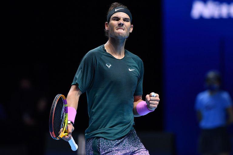 Nadal ganó y sigue en el Masters: a dos pasos del único gran trofeo que le falta