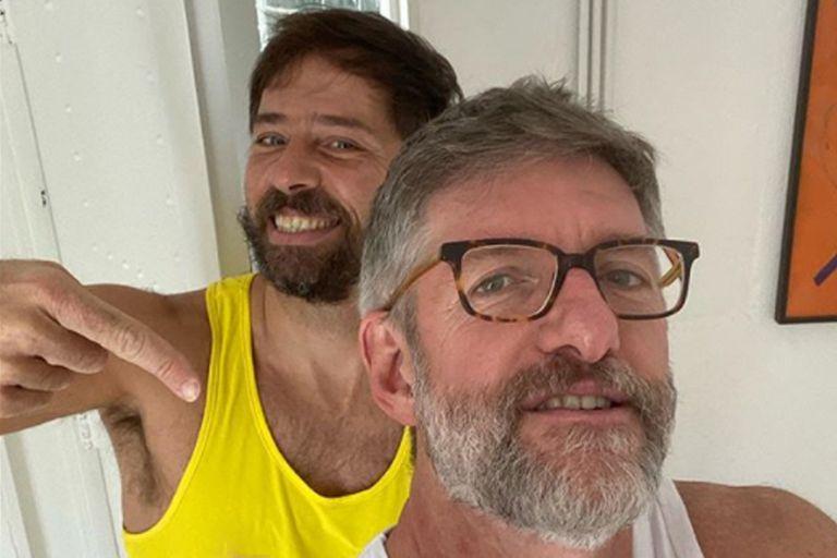 Luis Novaresio le dedicó un romántico mensaje a Braulio Bauab por su cumpleaños