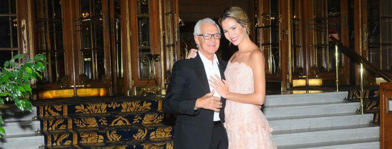 Eduardo Costantini se casó con Elina Fernández: las fotos de la ceremonia