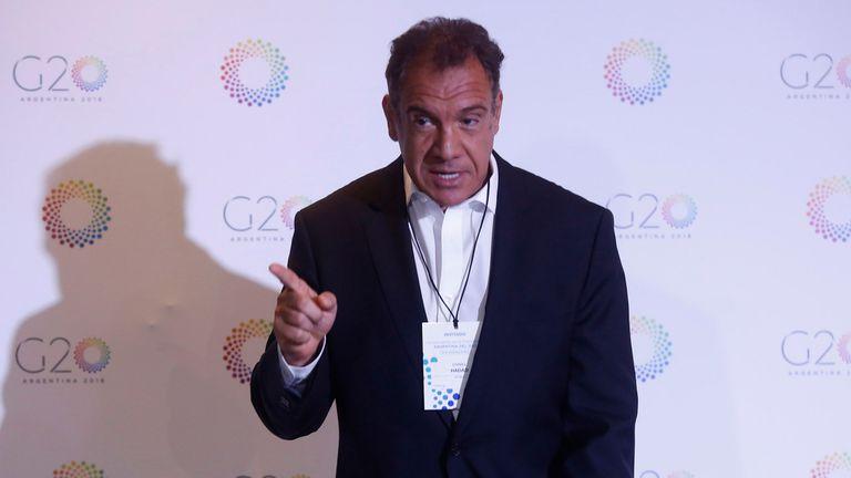El empresario Daniel Hadad
