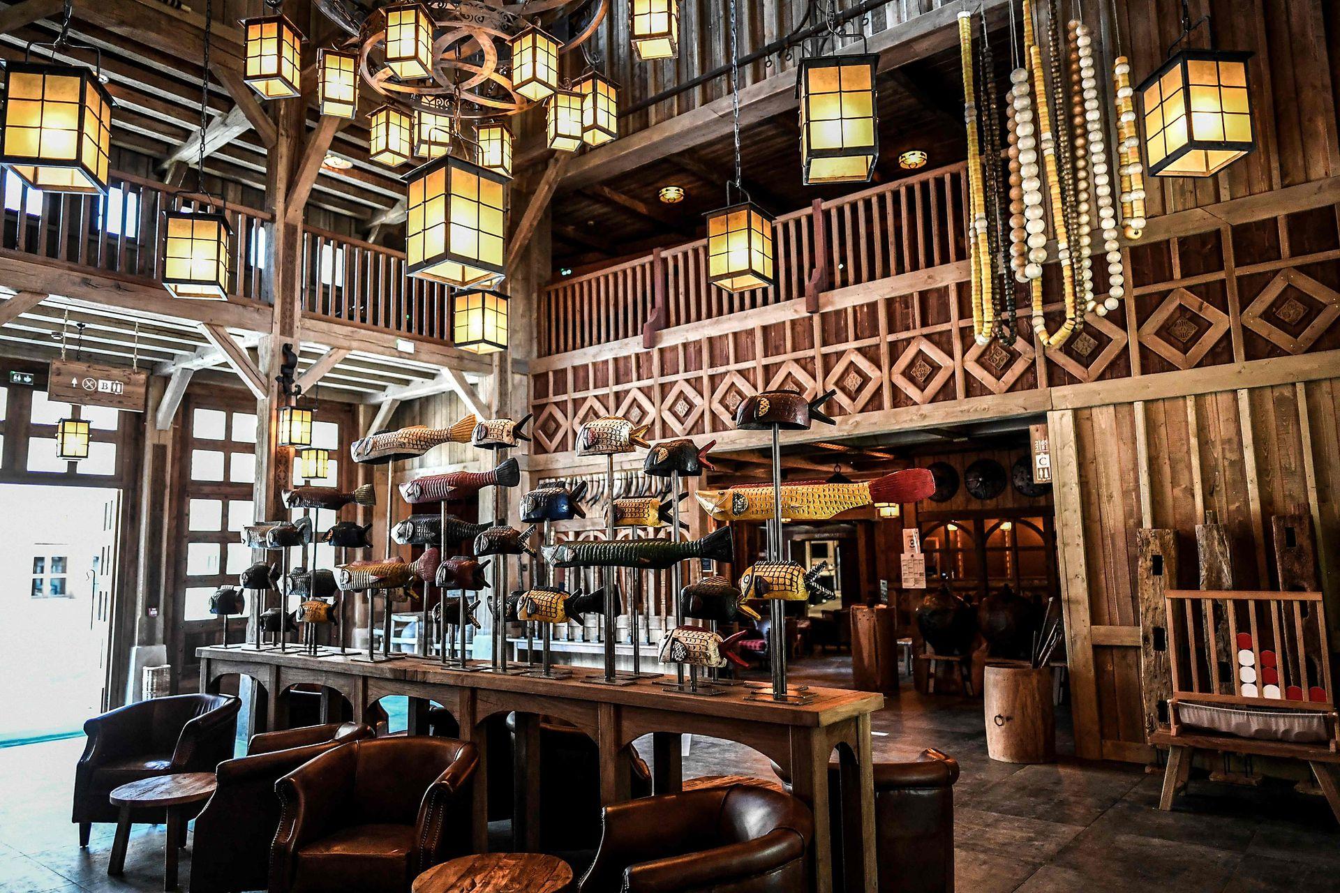 El paque también tiene varios hoteles para todos los gustos y con todas las comodidades para una estadía perfecta