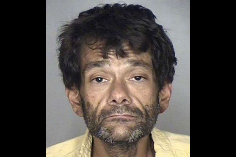 Shaun Weiss durante su detención en 2018