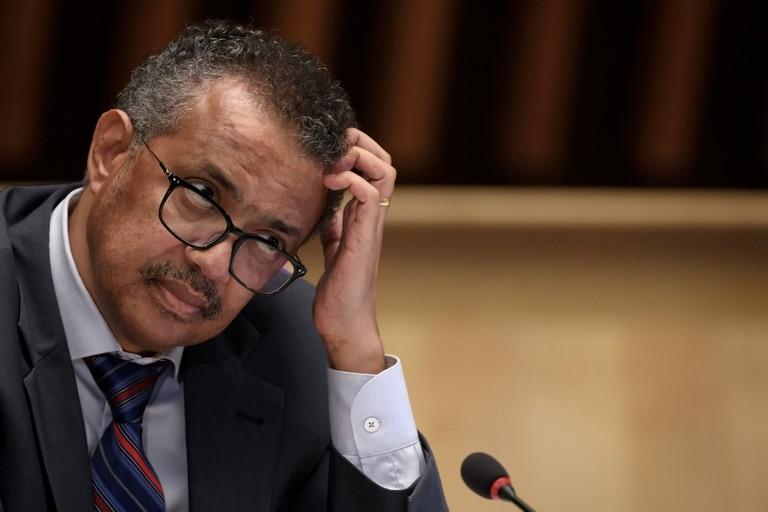 Los casos en Tedros Adhanom Ghebreyesus, director general de la OMS