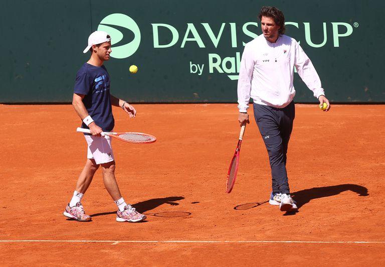 El equipo argentino de Copa Davis, que tiene como capitán a Gastón Gaudio y como primer singlista a Diego Schwartzman, recibe en el Buenos Aires Lawn Tennis a Bielorrusia.