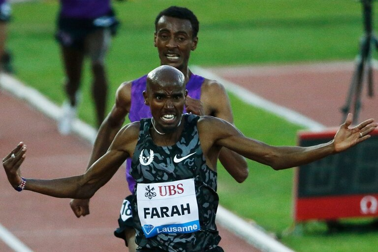 Farah y su regreso triunfal a las pistas