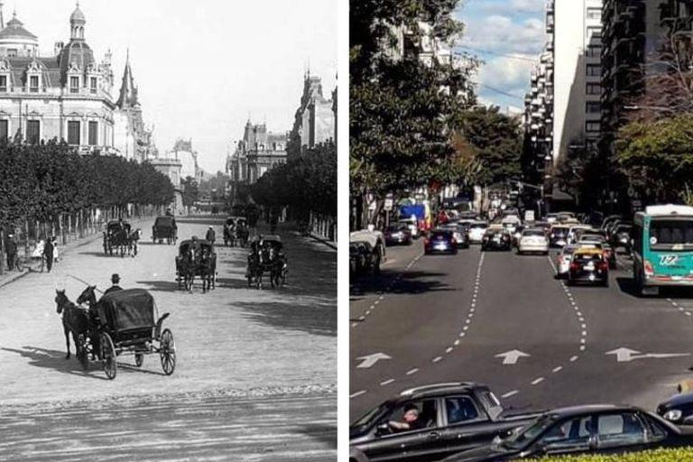 El increíble antes y después de uno de los barrios más elegantes de Buenos Aires