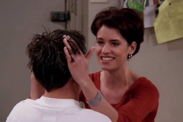 Paget Brewster era kathy, la novia de Joey y Chandler
