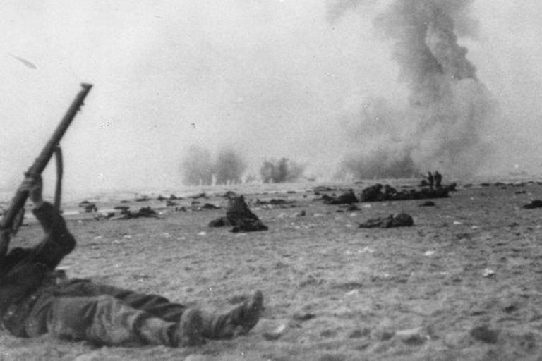 Aviones caza Messerschmitt Bf 109, Junkers Ju 87 o Stuka, y bombarderos Dornier Do 17 hacían llover la muerte desde el cielo