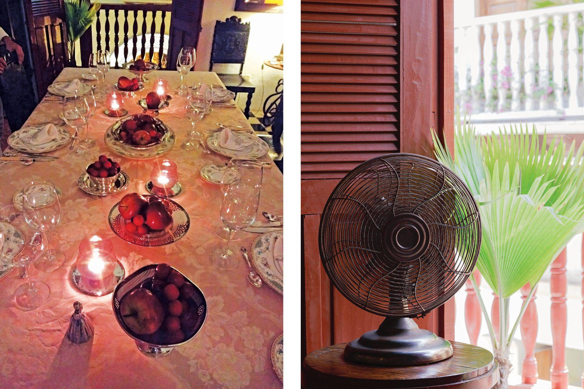 """""""En un primer momento, tuvimos aquí nuestro hogar y también un showroom para ofrecer cenas a la antigua""""."""