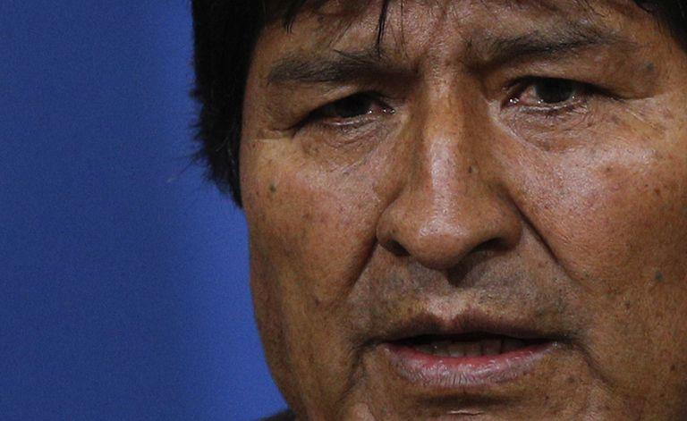 Evo Morales habló sobre la denuncia contra Mauricio Macri