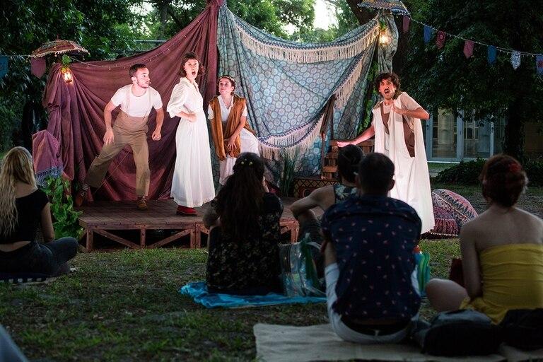 Por la pandemia, varias actividades culturales debieron hacerse al aire libre