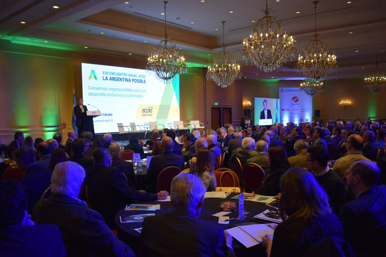 Más de 400 ejecutivos y funcionarios participaron del encuentro de la Asociación Cristiana de Dirigentes de Empresa en el hotel Sheraton