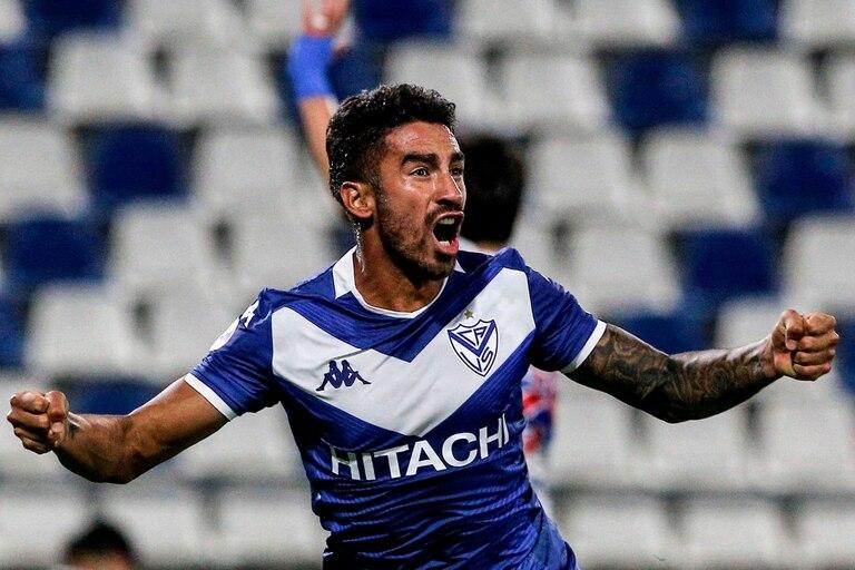 Juan Martín Lucero lo grita con todo: su gol puso a Vélez entre los cuatro mejores equipos de la Copa Sudamericana. El Fortín está en las semifinales del torneo tras vencer a Universidad Católica por 3-1 en Santiago de Chile.