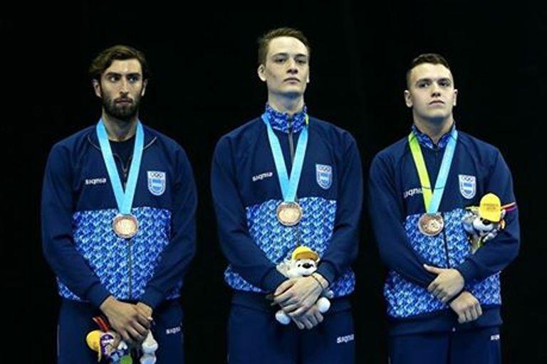 El equipo de sable se quedó con la de bronce