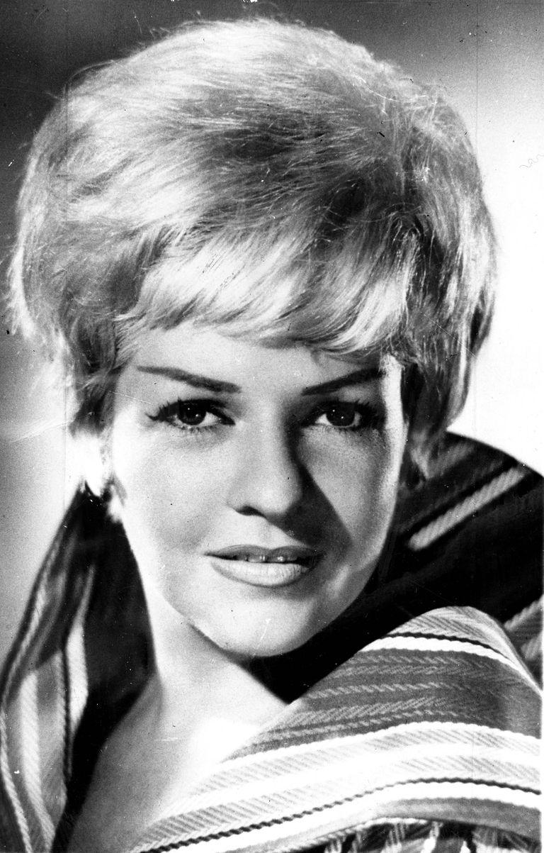 Una de sus apariciones televisivas en 1961