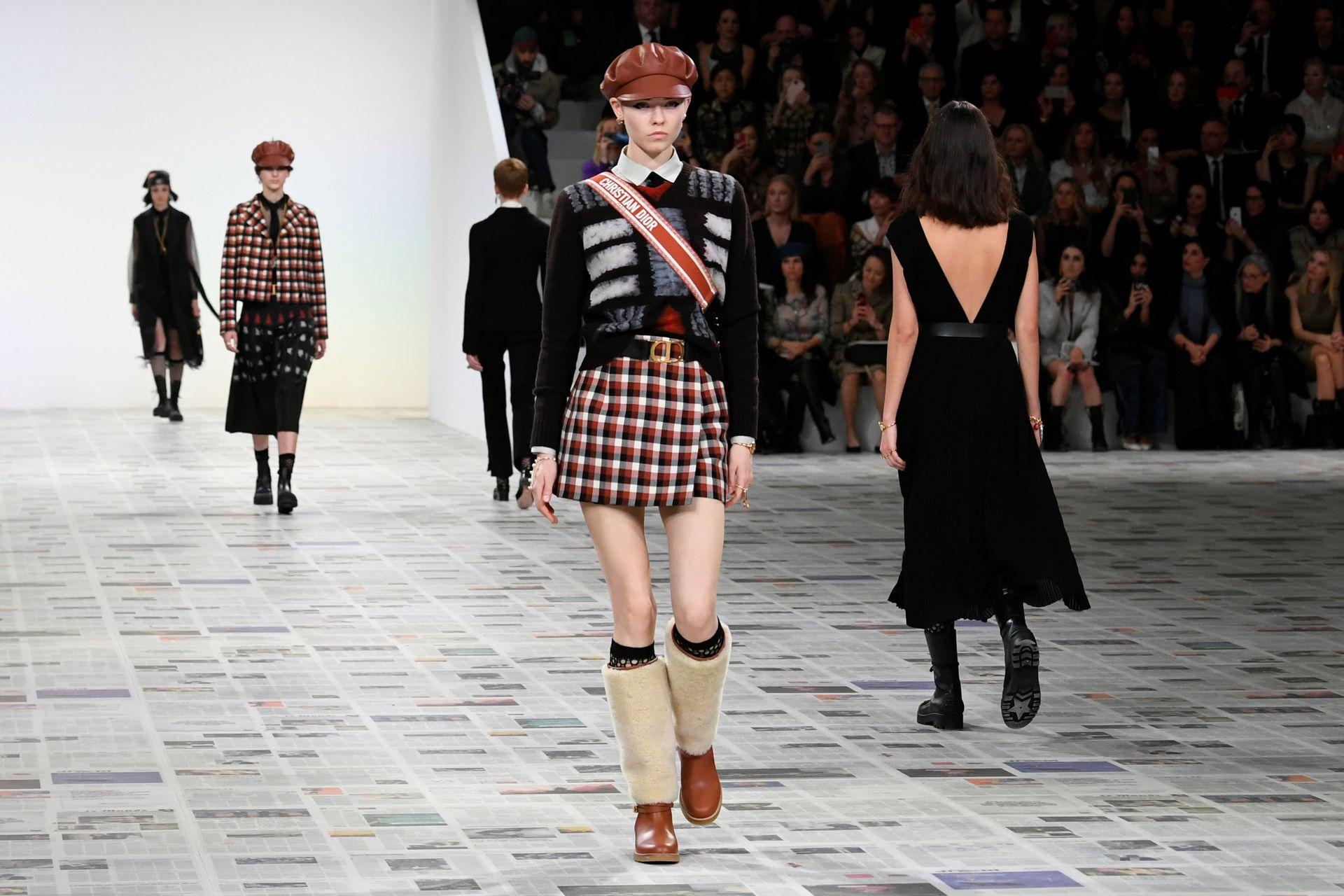 Colección de Maria Chiuri para Dior, en París Fashion Week 2020