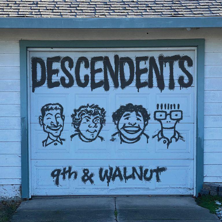 El título del nuevo disco de Descendents con (muy) viejas canciones remite a la ubicación en Long Beach, California, de la cochera donde la banda se gestó unos 40 años atrás.