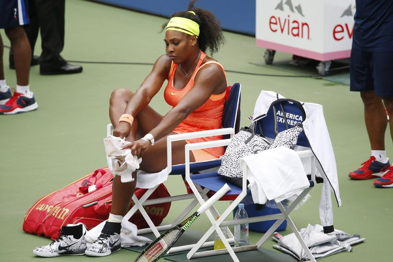 Cayó la gigante Serena Williams y ya no podrá lograr el Grand Slam