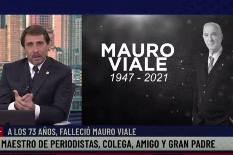 Eduardo Feinmann contó cómo fueron las últimas horas de Mauro Viale
