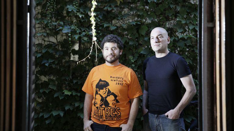 Alterleib y Alinovi, socios de una ficción borgeana con tortugas