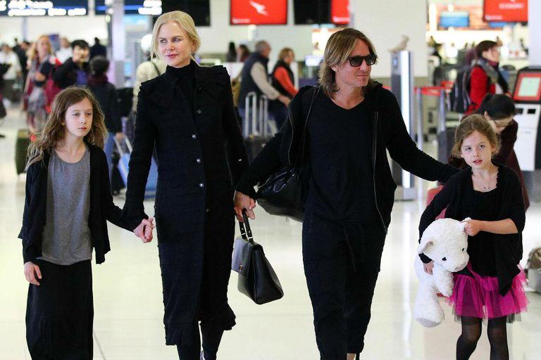 Nicole, Keith y un viaje en familia junto a Sunday Rose y Faith Margaret