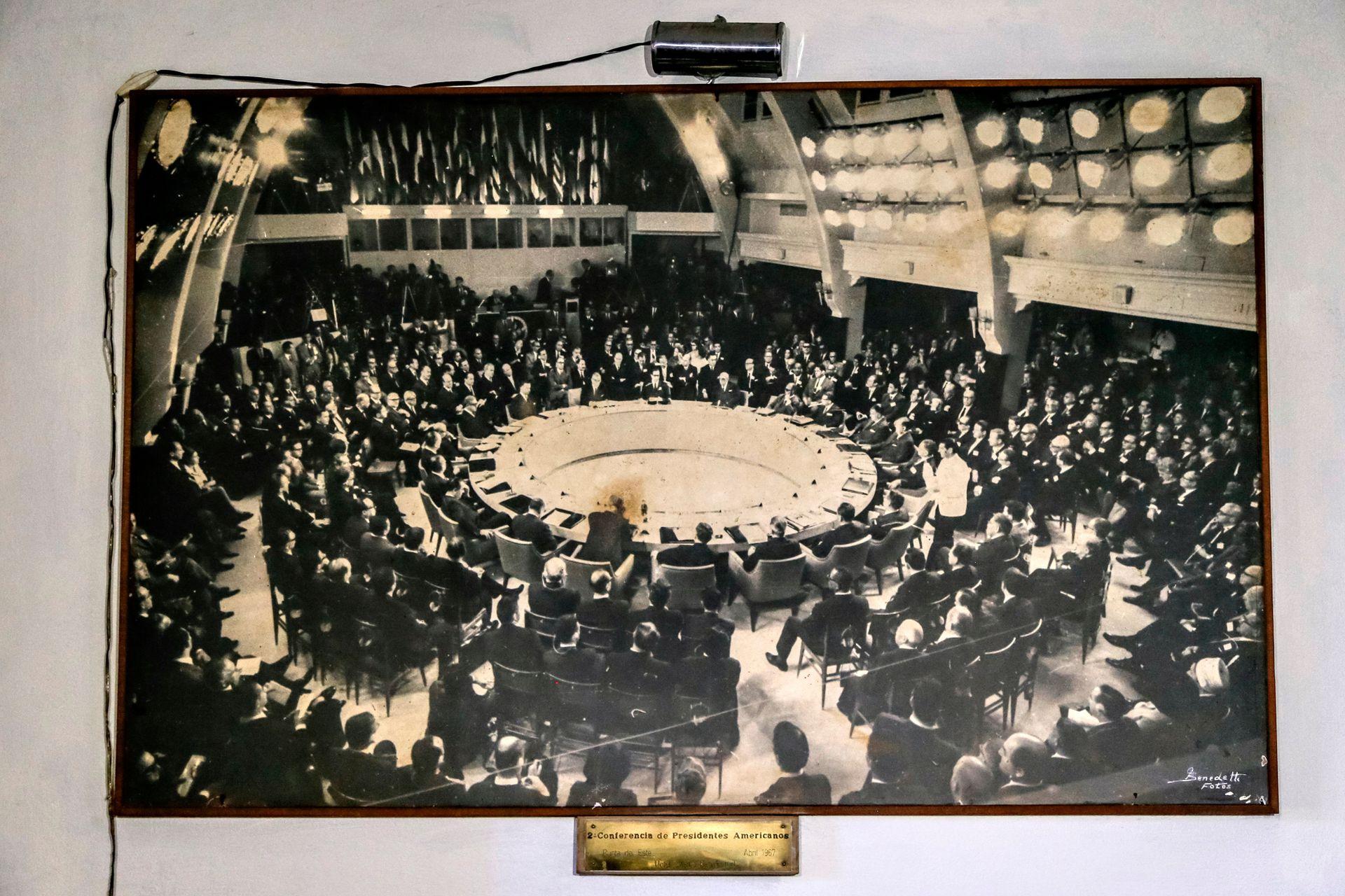En los 60 albergó la Conferencia de Presidentes de las Américas