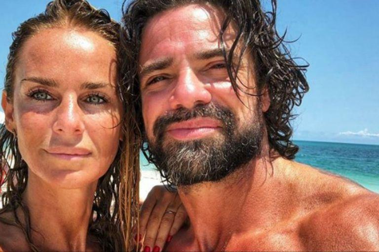 Las románticas vacaciones de Luciano Castro y Sabrina Rojas