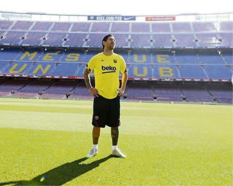 """El """"nuevo debut"""" de Messi; cuándo volverá a ponerse la camiseta de Barcelona"""