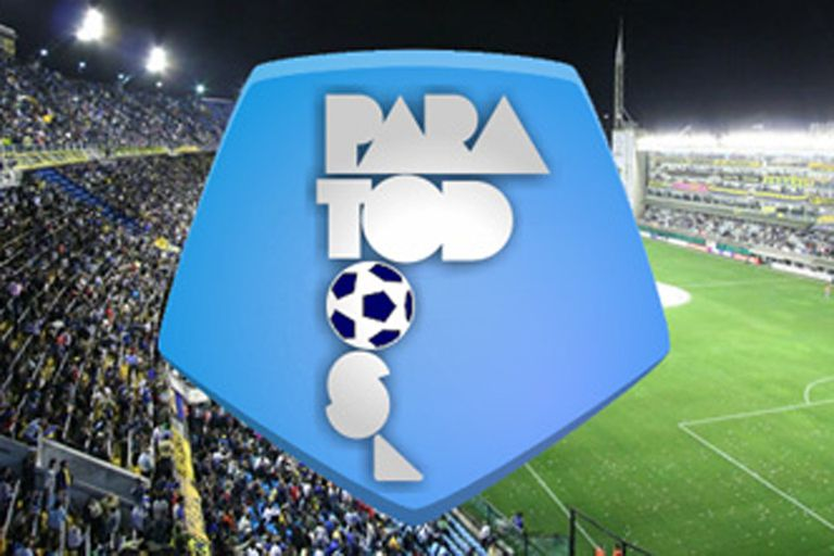 El logo de Fútbol para Todos