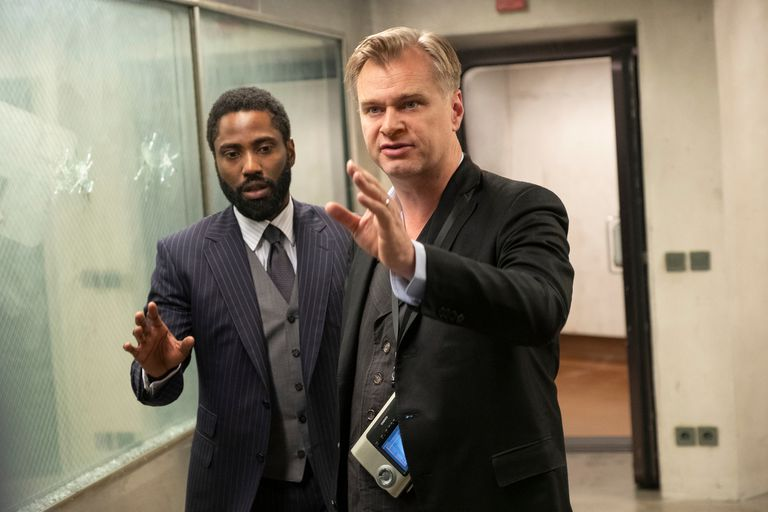 Imágenes del film Tenet de Christopher Nolan.