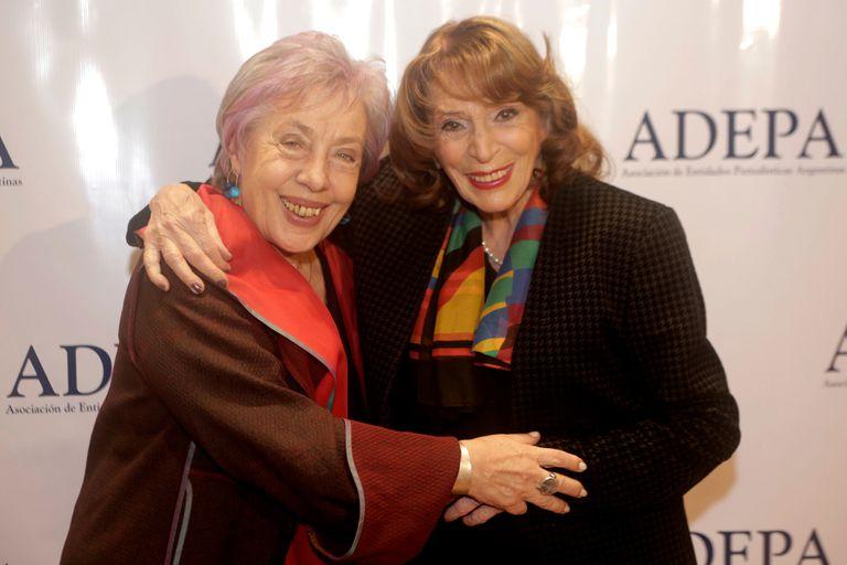 Magdalena Ruiz Guiñazú y Norma Morandini, premios de honor de Adepa