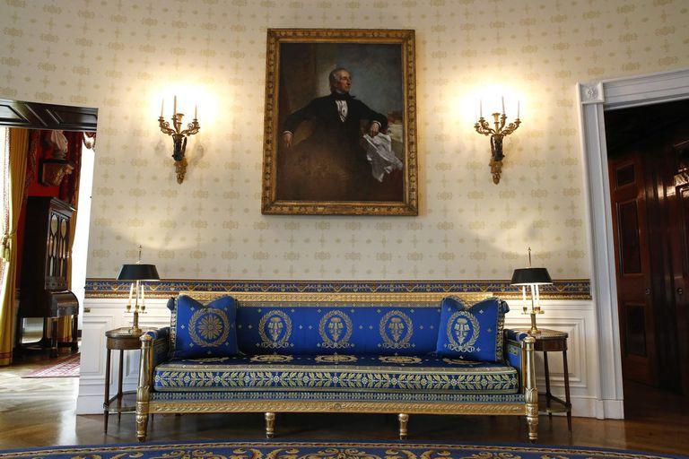 Muebles del conjunto de 53 piezas creado en París por Pierre-Antoine Bellange