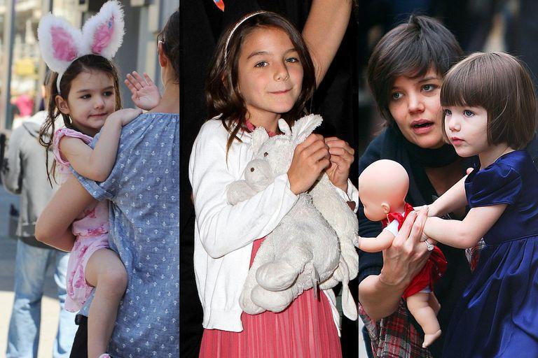 Desde que nació, Suri Cruise se convirtió en un referente de la moda infantil gracias a su guardarropas, repleto de vestidos de diseño