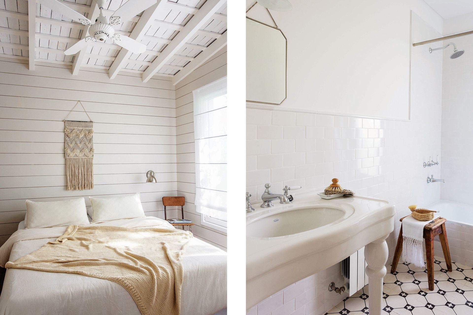 ¡Qué difícil encontrar ventiladores de techo con lindo diseño! Estos van perfecto (Oliver Sur).