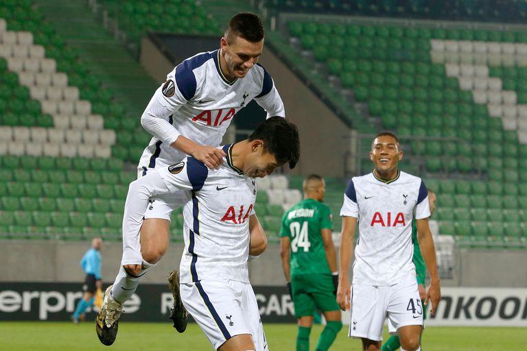 Tottenham, candidato en los octavos de final de la Europa League frente a Dínamo Zagreb